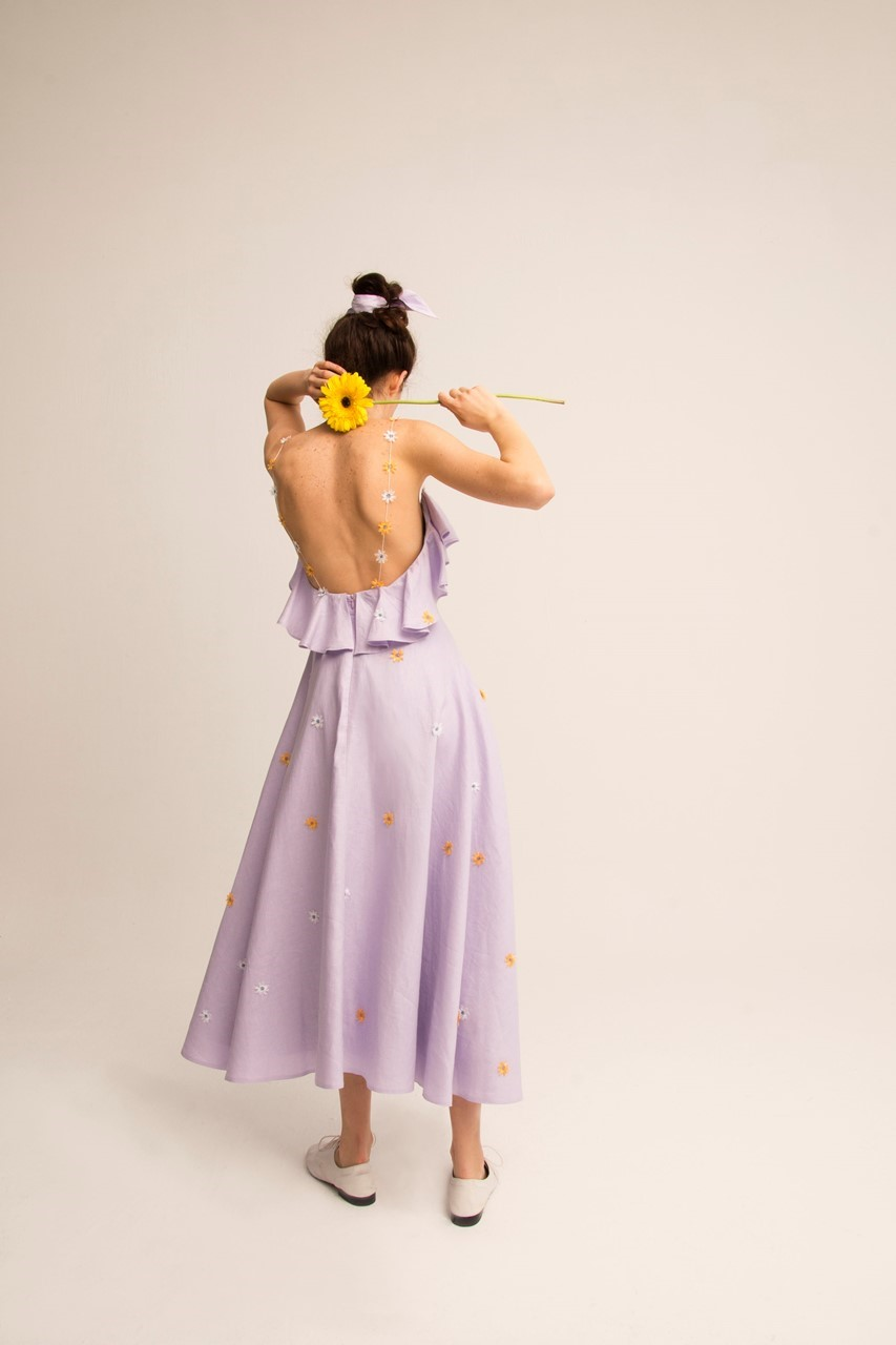 Picture of Myrio Lilac Dress